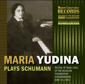 Maria Yudina (piano)  Plays Schumann-Piano-Instrumental