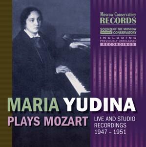 Maria Yudina (piano) Plays Mozart-Piano and Orchestra-Piano Concerto