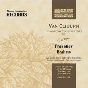 Prokofiev, Brahms - VAN CLIBURN, Piano Concerto No. 3 in C major, Op. 26 - Piano Concerto No. 2 in B flat major, Op. 83-Piano and Orchestra-Piano Concerto