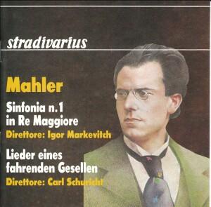 Mahler - Sinfonia N.1 - Lieder eines fahrenden Gesellen-Vocal Collection