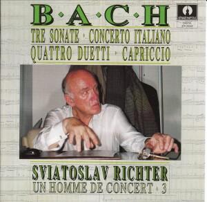 J.S.BACH - Sonate - Capriccio - Duetti - Concerto Italiano - Sviatoslav Richter-Klavír-Instrumental
