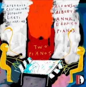 TWO PIANOS - Alfonso Alberti, piano: Aperghis - Castiglioni - Dufourt - Ligeti - Sciarrino-Klavír-Instrumental