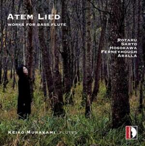Atem Lied - Works for Bass Flute - Keiko  Murakami (flutes)-Flute