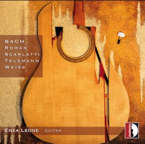 Enea Leone guitar - Baroque music for guitar: Bach - Roman -Scarlatti -Telemann - Weiss-Guitar-Baroque