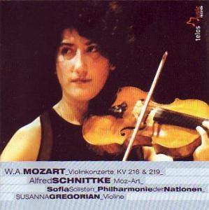 Wolfgang Amadeus Mozart - Violinenkonzert Nr. 3 - Violinenkonzert Nr. 5-Violin-Chamber Music