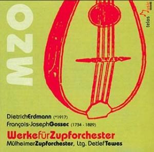 Dietrich Erdmann & Francois - Joseph Gossec - Mülheimer Zupforchester-Orchestre-Symphony