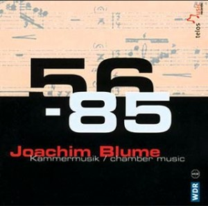 Blume: Chamber Works (1956 - 1985)-Quintet-Chamber Music