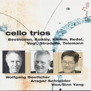 Beethoven - cello trios-Cello-Chamber Music