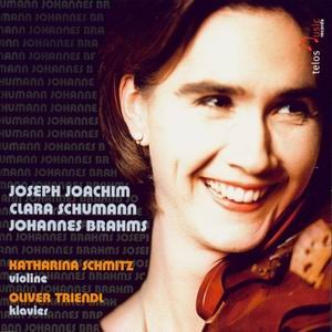 Joseph Joachim, Klara Schumann, Johanes Brahms-Violin