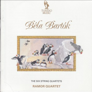 Béla Bartók - The Six String Quartets - Ramor Quartet-Quartet-Chamber Music