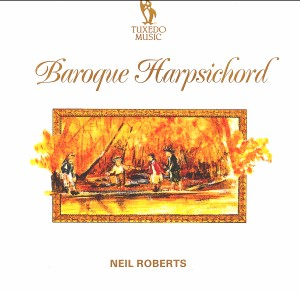 Baroque Harpsichord Neil Roberts  harpsichord-Baroque