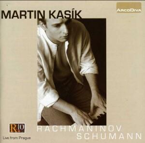 R. SCHUMANN - S. RACHMANINOV - Martin Kasik, piano -  Live from Prague-Piano-Instrumental