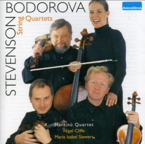 Bodrova - Stevenson - Martinu Quartet  - String Quartets-Voices and Quartet-Vocal Collection