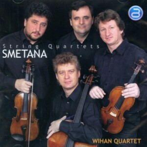"""Smetana - String Quartets Nos. 1, """"From my life"""" and 2 - Wihan String Quartet-Quartet-Chamber Music"""