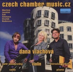 Czech Chamber Music - Dana Vlachova, violin - Miroslav Sekera, piano - Petr Nouzovsky, cello-Piano and Violin-Chamber Music