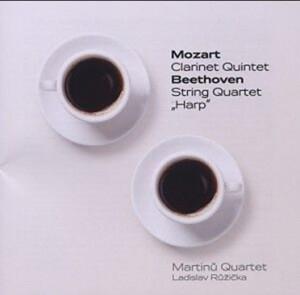 W.A. MOZART - Clarinet Quintet - L.van BEETHOVEN - String Quartet - 'Harp'-Clarinet-Chamber Music
