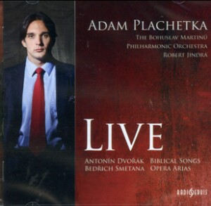 Adam Plachetka (bass-baritone) LIVE - Dvorak - Biblical Songs / Smetana - Opera Arias -Voices and Orchestra-Vocal Recital