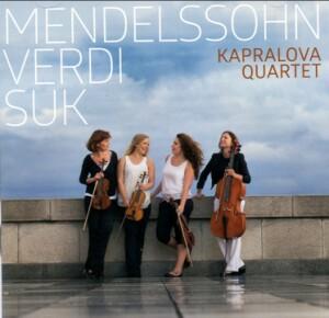 Mendelssohn - Verdi - Suk - Kapralova Quartet-Quartet-Chamber Music