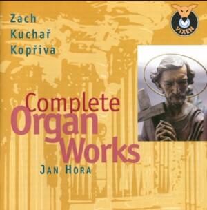 Zach - Kuchař - Kopřiva: Complete Organ Works - Jan Hora, organ-Organ-Organ Collection