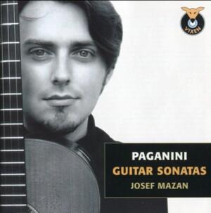 N. PAGANINI - Guitar Sonatas - Josef Mazan, guitar-Guitar-Instrumental