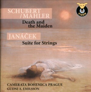 Schubert - Mahler: Death and the Maiden / Janáček: Suite for Strings - Camerata Bohemica Prague - Gudni A. Emilsson-String Orchestra-Instrumental