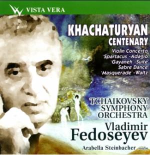 Khachaturyan Centenary Concert  -Tchaikovsky Symphony Orchestra - V.Fedoseyev - A. Steinbacher, violin-Violin and Orchestra-Violin Concerto