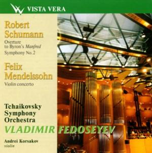 V. Fedoseyev - Tchaikovsky Symphony Orchestra - A. Korsakov, violin -  Schumann, Mendelssohn-Violin and Orchestra-Violin Concerto