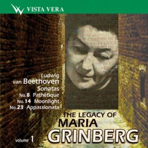 The Legacy of Maria Grinberg Vol. 1 - Beethoven-Piano-Instrumental
