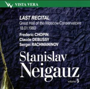 Stanislav Neigauz, piano - Vol. 5 - Last Recital-Piano-Instrumental