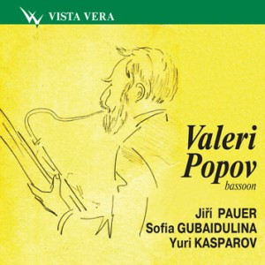 V. Popov, bassoon -  J. Pauer - S. Gubaidulina - Y.Kasparov - Bassoon Concertos-Bassoon-Bassoon Collection